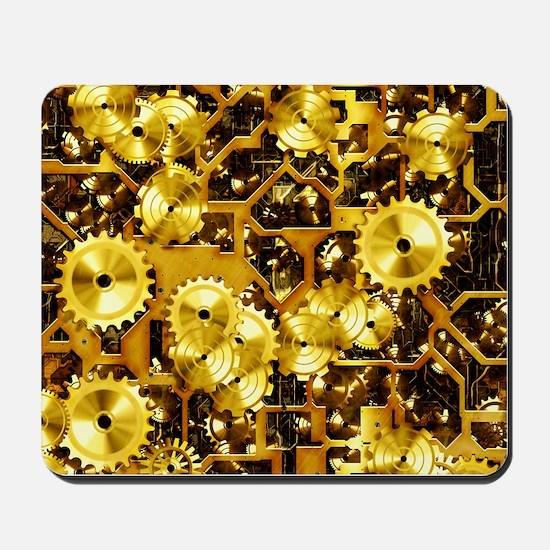 SteamClockwork-Brass Mousepad