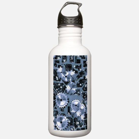 SteamClockwork-Steel Water Bottle