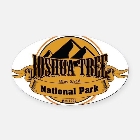 joshua tree 5 Oval Car Magnet