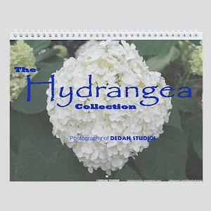 The Hydrangea Collection Wall Calendar