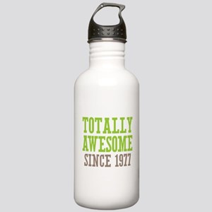 Totally Awesome Since 1977 Stainless Water Bottle