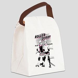 Roller Derby Canvas Lunch Bag