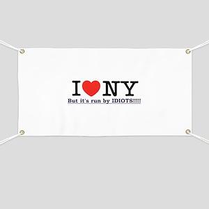 NY Run by idiots! Banner