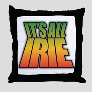 It's All IRIE Throw Pillow