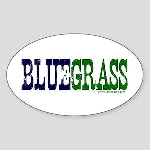 Original BLUEGRASS Sticker (Oval)