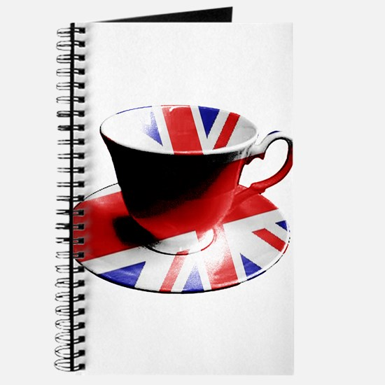 Union Jack Cup of Tea Journal