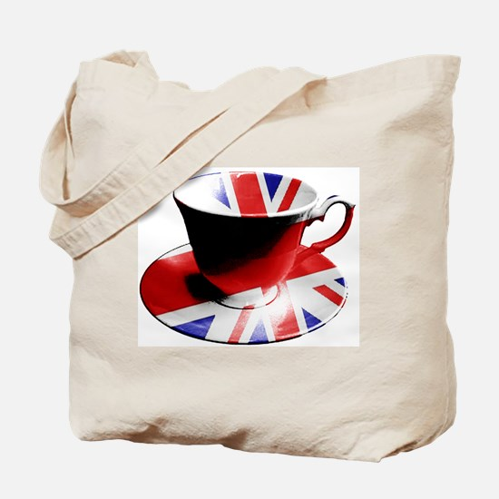 Union Jack Cup of Tea Tote Bag
