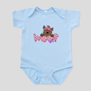 Scottish Terrier Pink Body Suit