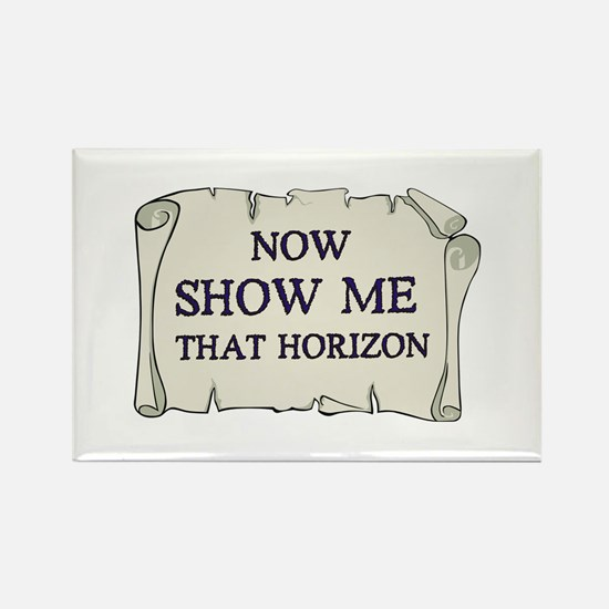 Show me that horizon Rectangle Magnet (10 pack)
