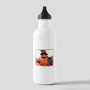 Halloween French Bulldogs Water Bottle