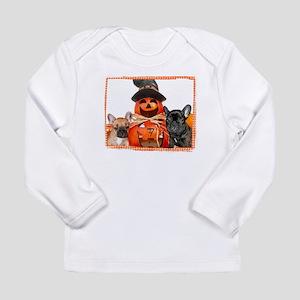 Halloween French Bulldogs Long Sleeve T-Shirt