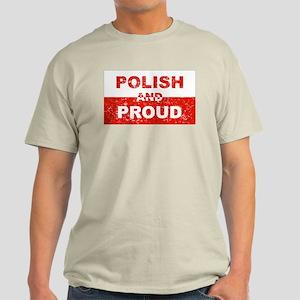 Polish And Proud Ash Grey T-Shirt