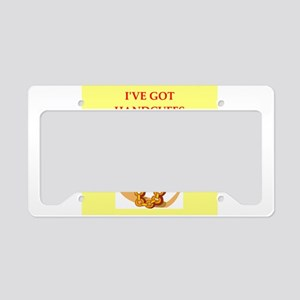 submission License Plate Holder