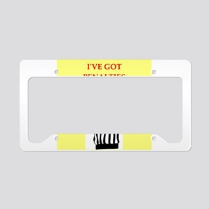 referee License Plate Holder
