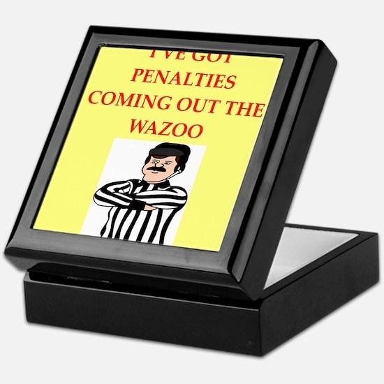 referee Keepsake Box