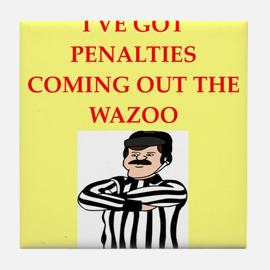 referee Tile Coaster