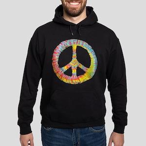 Tie-Dye Peace 713 Hoodie (dark)
