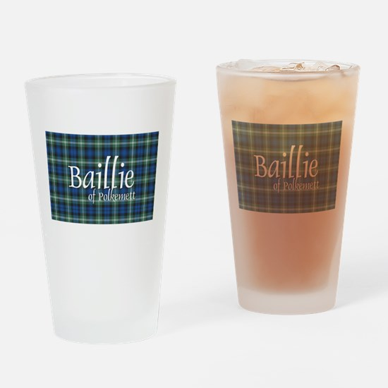 Tartan - Baillie of Polkemett Drinking Glass