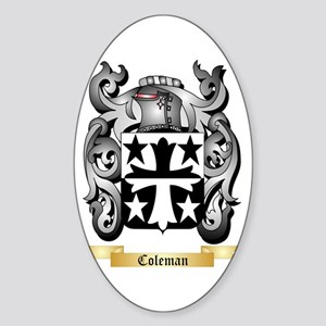 Coleman Sticker (Oval)