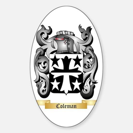 Coleman Sticker (Oval)