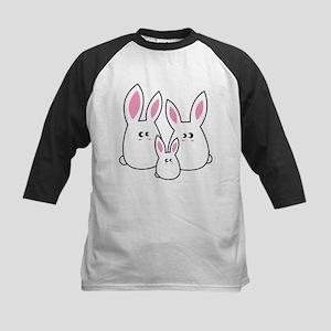 Trio of Rabbits Baseball Jersey