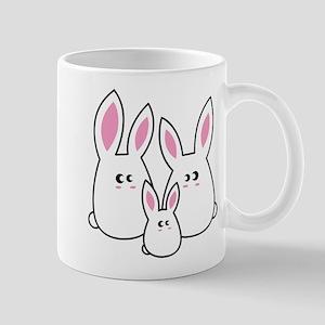 Trio of Rabbits Mug