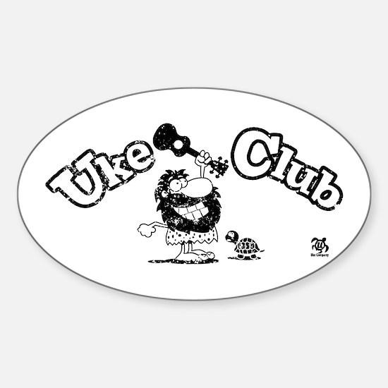 Uke Club Decal