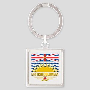 British Columbia Flag Keychains