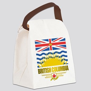 British Columbia Flag Canvas Lunch Bag