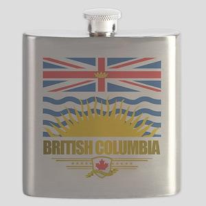 British Columbia Flag Flask