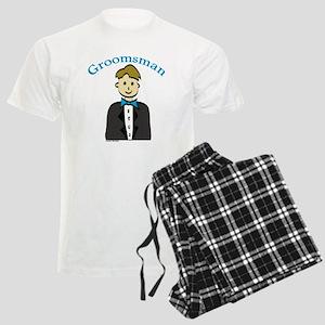 Groomsman Men's Light Pajamas