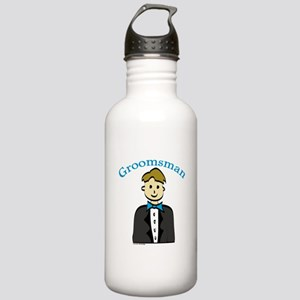 Groomsman Stainless Water Bottle 1.0L