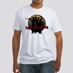 New Orleans Jazz Players Fitted T-Shirt