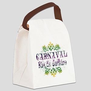 Carnaval Rio De Janeiro Canvas Lunch Bag