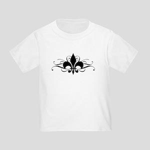 Fleur De Lis Toddler T-Shirt