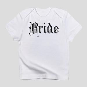 Gothic Text Bride Infant T-Shirt