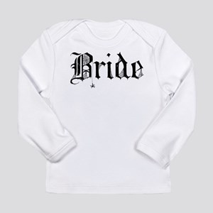 Gothic Text Bride Long Sleeve Infant T-Shirt