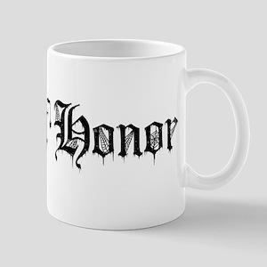Gothic Text Maid Of Honor Mug