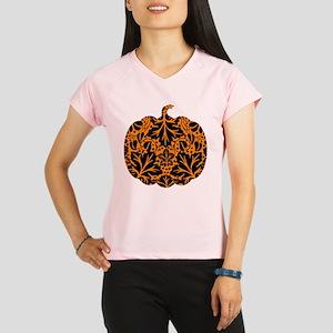 Damask Pattern Pumpkin Performance Dry T-Shirt