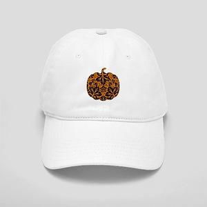 Damask Pattern Pumpkin Cap