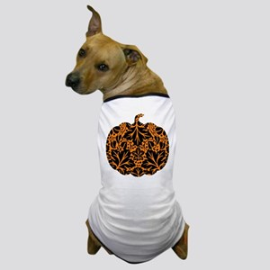 Damask Pattern Pumpkin Dog T-Shirt