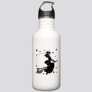 Old Fashioned Witch Stainless Water Bottle 1.0L