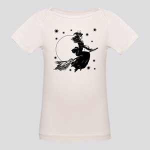 Old Fashioned Witch Organic Baby T-Shirt