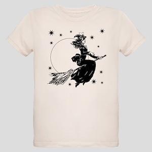 Old Fashioned Witch Organic Kids T-Shirt