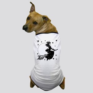 Old Fashioned Witch Dog T-Shirt