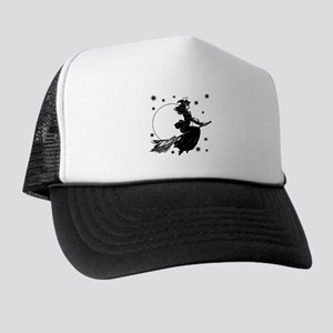 Old Fashioned Witch Trucker Hat