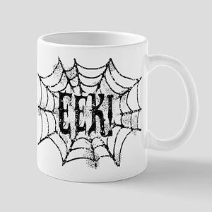 Halloween Cobweb Eek Mug