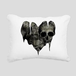 Bleak Heart Rectangular Canvas Pillow