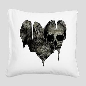 Bleak Heart Square Canvas Pillow