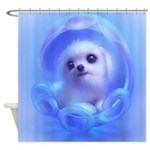 Whimsical Candy Color Pet Puppy DogShower Curtain